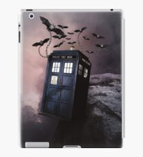 Flying Blue Box In Space Hoodie / T-shirt iPad Case/Skin