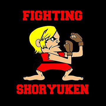 fighting shoryuken by jennamartz
