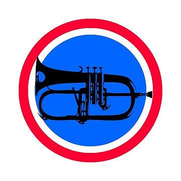 Flugel Horn by andreclarke