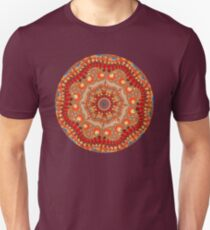 Spiral Mandala Pattern Unisex T-Shirt