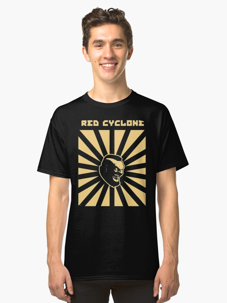 red cyclone Classic T-Shirt Front
