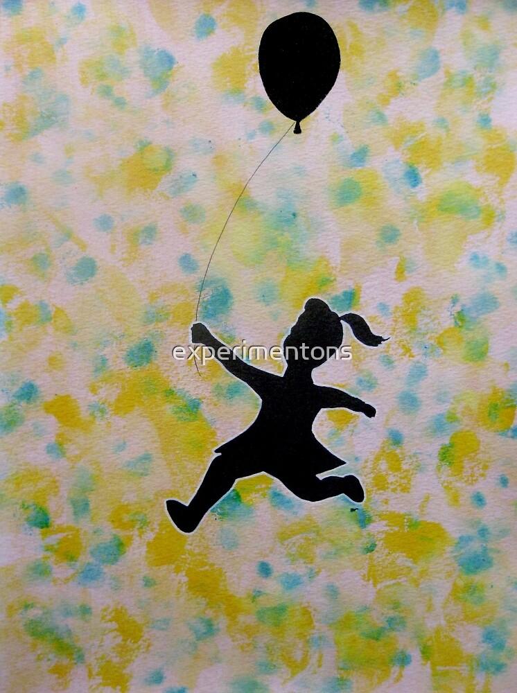 Balloon girl by experimentons