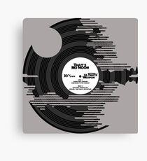 Star Wars - Death Star Vinyl Canvas Print