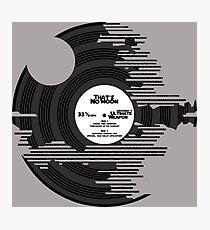 Star Wars - Death Star Vinyl Photographic Print