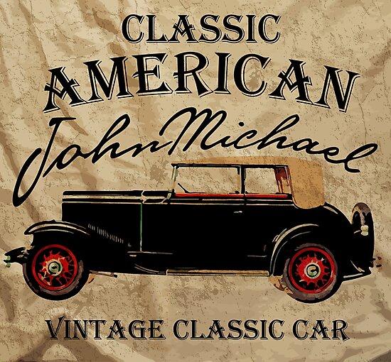 Classic American John Michael by traumfaenger
