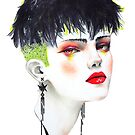 girl in fashion #1 by Minjae Lee