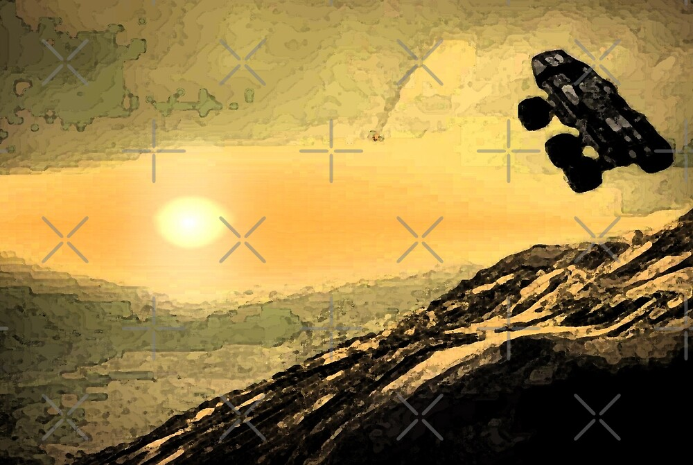 "Mass Effect Mako ""sunrise"" by spacecharly"