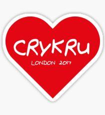 Crykru  Sticker