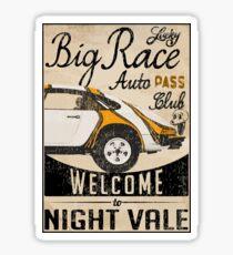 Lucky Big Race Sticker