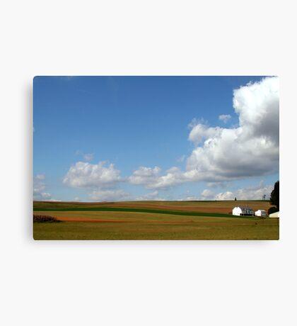 farmlands Canvas Print