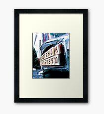 Mini Juke Box Framed Print
