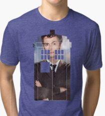 The Doctor Tee - Tardis T-Shirt Tri-blend T-Shirt