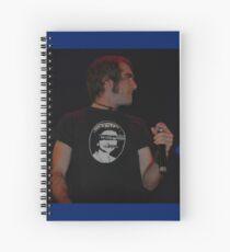 God Save The Queen - Jack Jones, Australia 2008 Spiral Notebook