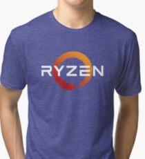 Ryzen Zen Logo Tri-blend T-Shirt