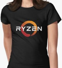 Ryzen Zen Logo Womens Fitted T-Shirt