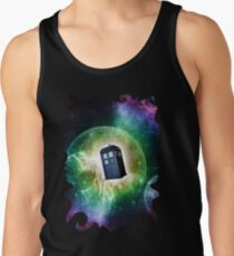 Universe Blue Box Tee The Doctor T-Shirt Tank Top