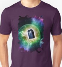 Universe Blue Box Tee The Doctor T-Shirt T-Shirt
