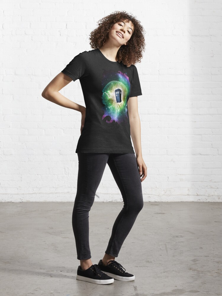Alternate view of Universe Blue Box Tee The Doctor T-Shirt Essential T-Shirt
