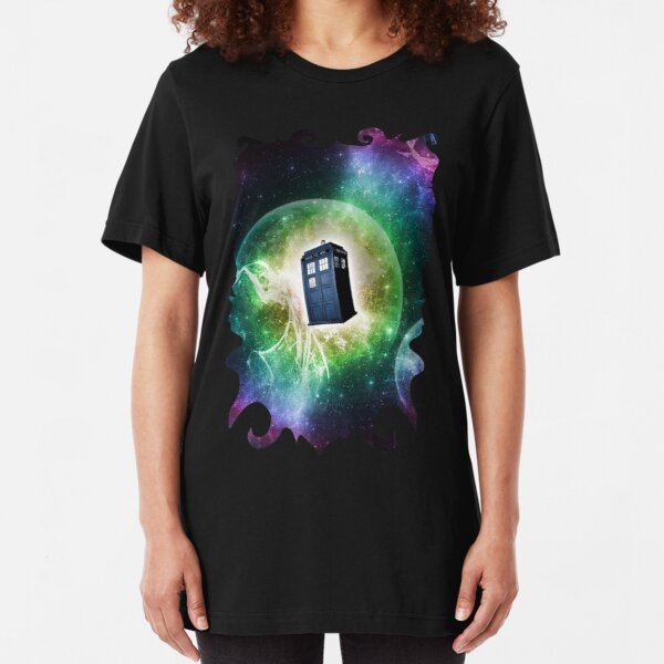 Universe Blue Box Tee The Doctor T-Shirt Slim Fit T-Shirt