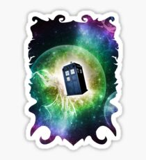 Universe Blue Box Tee The Doctor T-Shirt Sticker