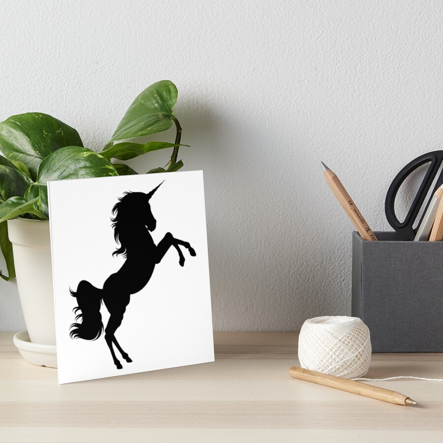 Unicorn Silhouette by HannArtista