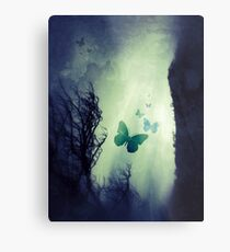 On The Wings of Chaos Metal Print