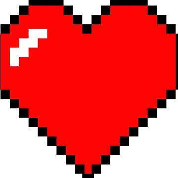 Heart 8 Bit by KrAyZiEBOOY