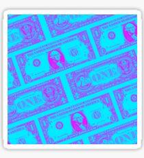 Almighty PURPLE NEON Sticker