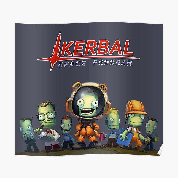 Kerbal Space Program KSP Team Poster