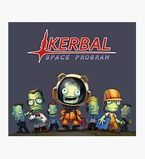 Kerbal Space Program KSP Team Photographic Print
