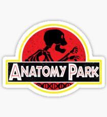Anatomy Park - movie poster shirt Sticker