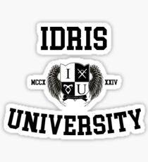 Idris University Sticker