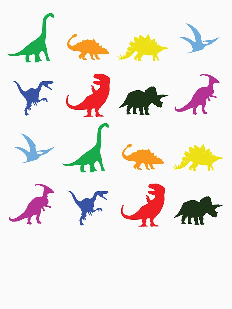 Fun Dinosaur Pattern | Unisex T-Shirt