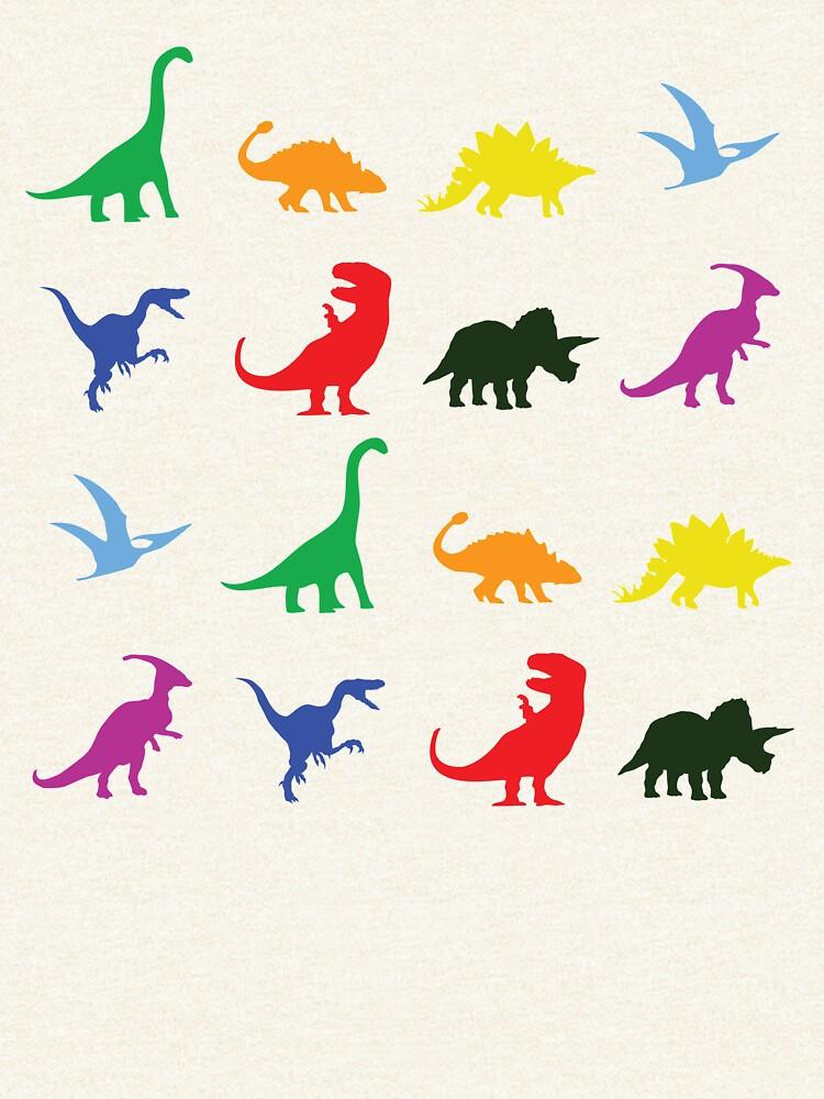 Spaß-Dinosaurier-Muster von jezkemp