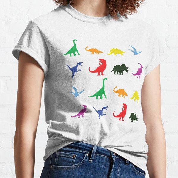 Fun Dinosaur Pattern Classic T-Shirt
