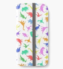 Fun Dinosaur Pattern iPhone Wallet/Case/Skin