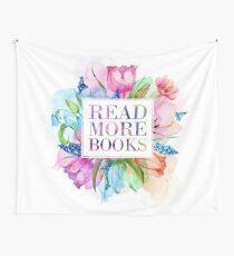 Lesen Sie weiter Bücher Pastel Wandbehang