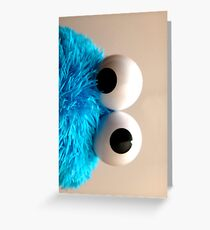 cookie eye fun Greeting Card