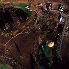 Ballooning over the Hunter Valley, NSW by Matt  Lauder
