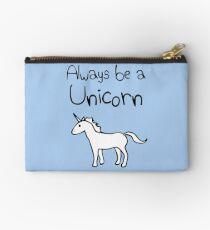 Always Be A Unicorn Studio Pouch
