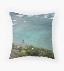 Oahu Coast Throw Pillow