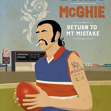 Bones McGhie - Footscray by 4boat