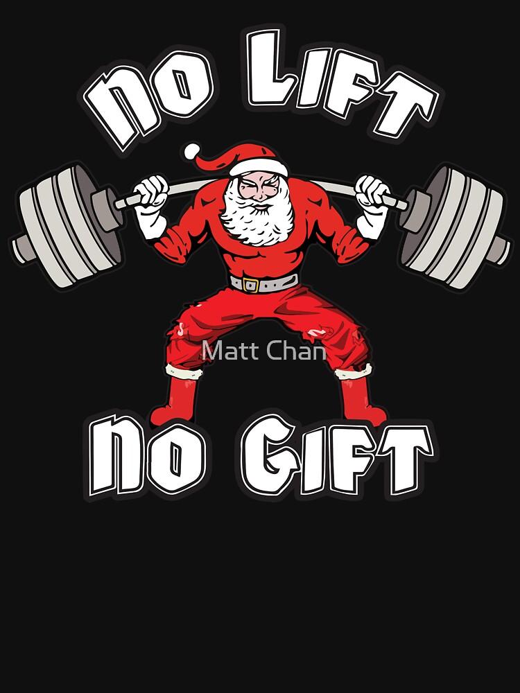 No Lift, No Gift - Santa Squat - Leg Day by mchanfitness