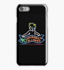 No crybabies iPhone Case/Skin