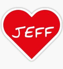 Jeff Sticker