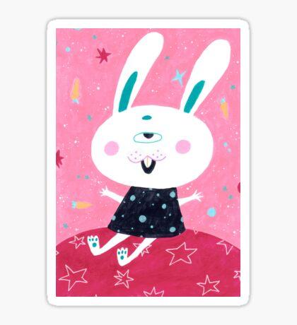 Bunny from mars Sticker