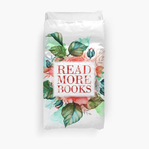 Read More Books Duvet Cover