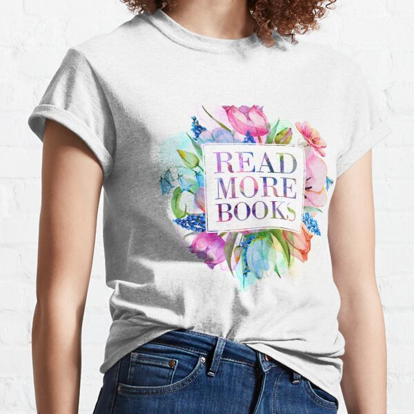 Read More Books Pastel Classic T-Shirt