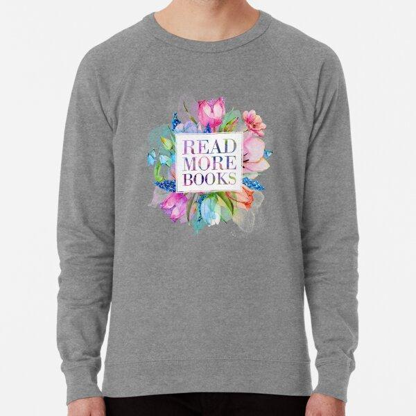 Read More Books Pastel Lightweight Sweatshirt