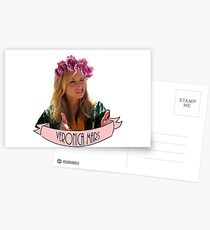 Veronica Mars Flower Crown Postcards